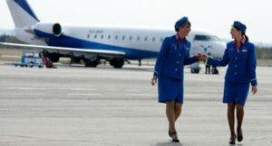 Como entrar a trabajar como auxiliar de vuelo