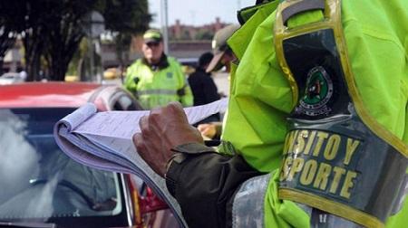Multas de Tránsito en Colombia