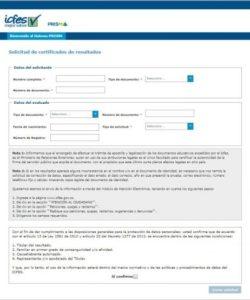 Datos ICFES Página