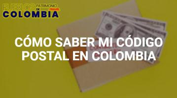 Cómo saber mi código postal Colombia