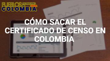 Cómo sacar el Certificado de Censo en Colombia
