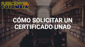 Cómo solicitar un Certificado UNAD