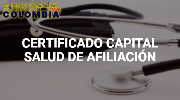 Certificado capital salud