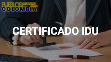 Certificado IDU