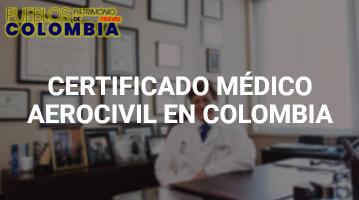 Certificado Médico Aerocivil en Colombia