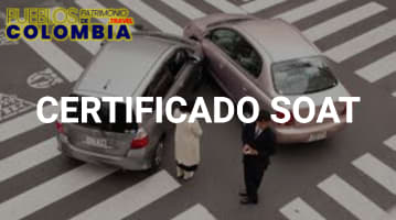 Certificado SOAT:  Seguro Obligatorio de Accidentes de Tránsito