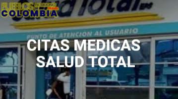 Citas médicas Salud Total