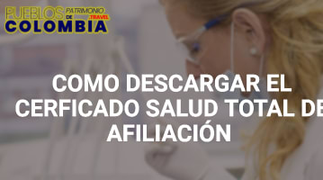 Certificado Salud Total