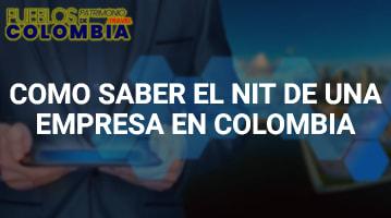 Como saber el NIT de una empresa en Colombia