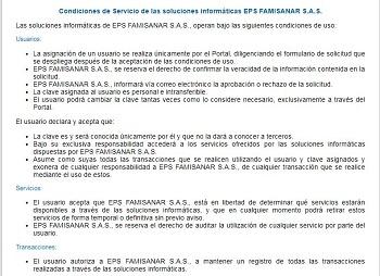 Certificado Famisanar PASOS 3