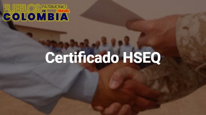 Certificado HSEQ