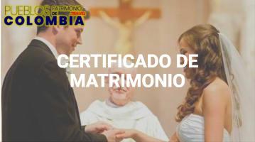 Como sacar el Certificado de Matrimonio Civil