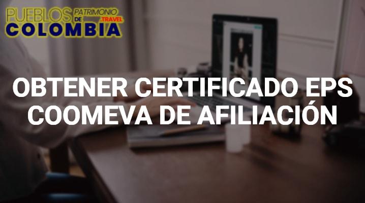 Certificado EPS Coomeva