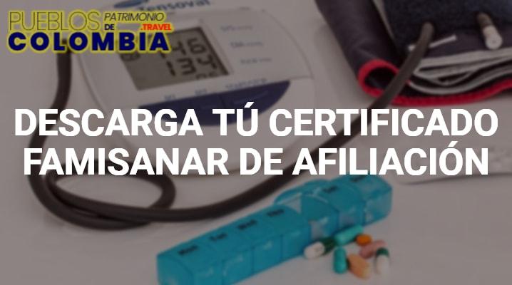 Certificado Famisanar
