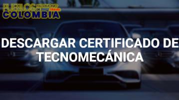 Certificado tecnomecanica