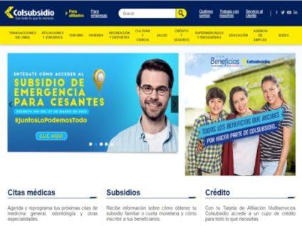 Ingresar a la Plataforma Online de citas médicas Colsubsidio