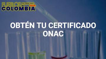 Certificado ONAC