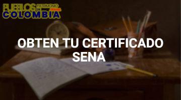 Obtén tu Certificado SENA: Servicio Nacional de Aprendizaje