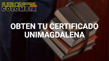 Obtén tú Certificado Unimagdalena