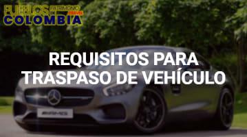 Requisitos para Traspaso de Vehículo