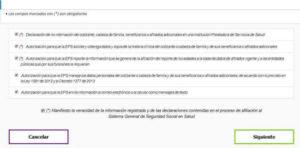 Verificar informacion EPS