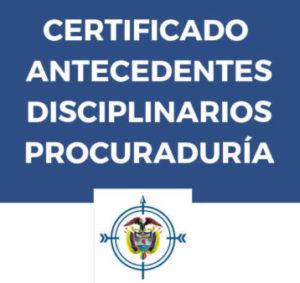 certificado de antecedentes de afiliación