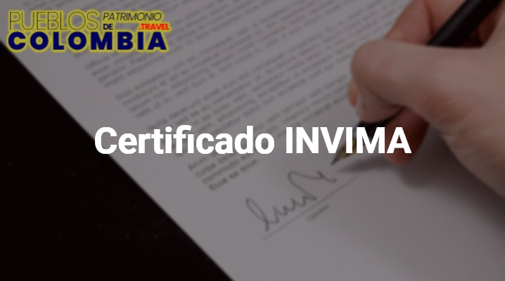 Certificado invima