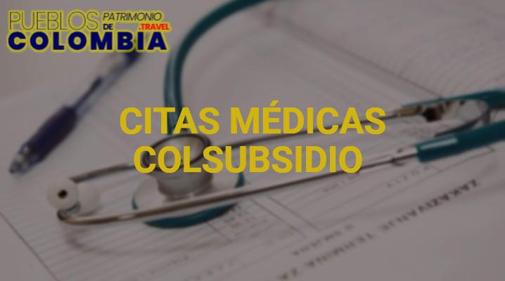 Citas médicas Colsubsidio