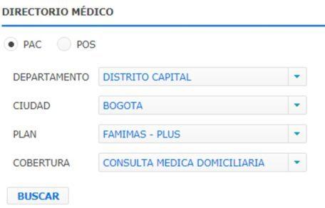 directorio médico de famisanar