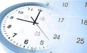 Horario de entrega de Certificados