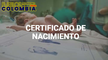 Certificado Registro Civil de Nacimiento