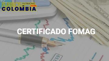 Cómo descargar un Certificado FOMAG