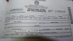 Como sacar un Certificado de Nacimiento en el Registro Civil