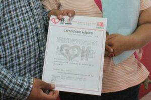 Como sacar un Certificado médico escolar
