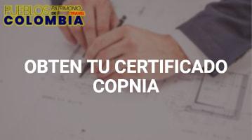 Obtén Tu Certificado Copnia