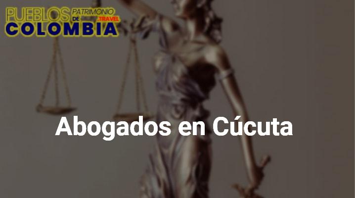 Abogados en Cúcuta
