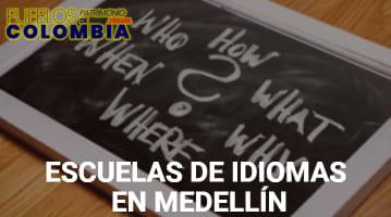 Escuelas de Idiomas en Medellín