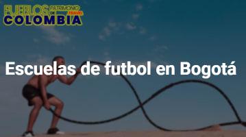 Escuelas de futbol en Bogotá