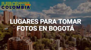 Lugares para tomar fotos en Bogotá