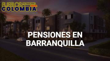Pensiones en Barranquilla