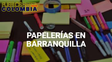Papelerías en Barranquilla