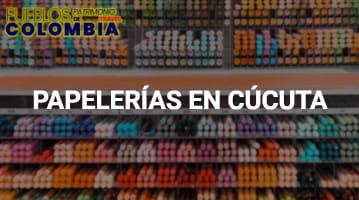 Papelerías en Cúcuta