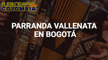 Parranda Vallenata en Bogotá