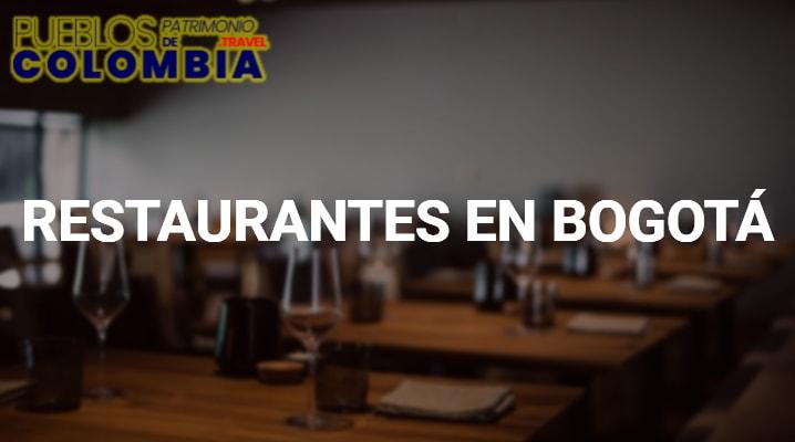 Restaurantes en Bogotá