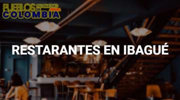 Restaurantes en Ibagué