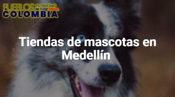 Tiendas de mascotas en Medellín