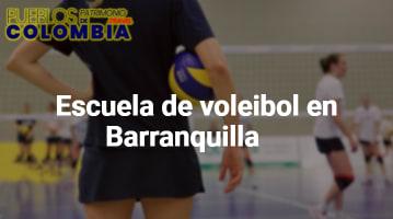 Escuela de voleibol en Barranquilla
