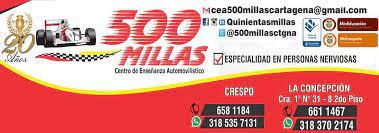 Centro de Enseñanza Automovilístico 500 Millas & Cia Ltda