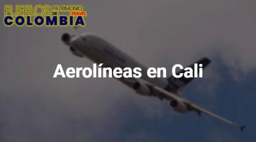 Aerolíneas en Cali