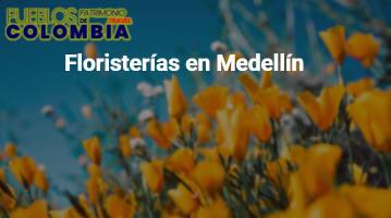 Floristerías en Medellín